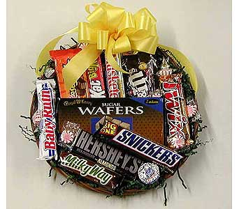 Candy Lovers Basket in Norristown PA, Plaza Flowers
