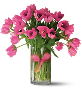 Teleflora's Precious Hot Pink Tulips - Premium in Toronto ON, Simply Flowers
