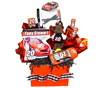 GB107 ''NASCAR No. 20'' in Oklahoma City OK, Array of Flowers & Gifts
