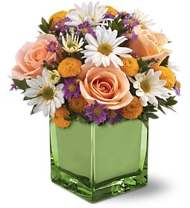 Teleflora's Spring Spirit Bouquet in Murrells Inlet SC, Nature's Gardens Flowers