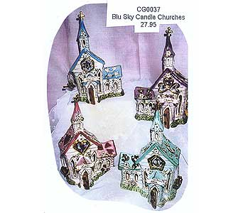 Blu Sky Candle Churches in Sioux Falls SD, Country Garden Flower-N-Gift