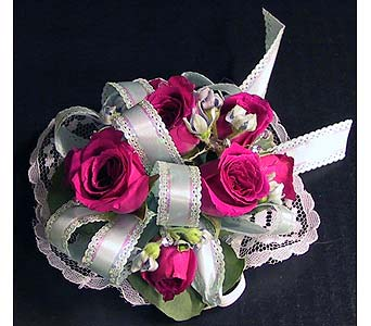 Spray Rose Corsage in Hudson NH, Anne's Florals & Gifts