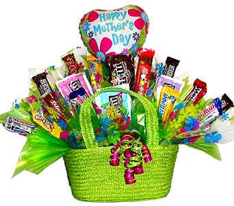 MDCB68 ''Sweet Mom'' Candy Bouquet in Oklahoma City OK, Array of Flowers & Gifts