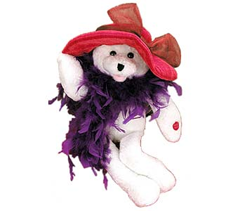 PLUSH120 ''Suzie'' The Singing Bear in Oklahoma City OK, Array of Flowers & Gifts