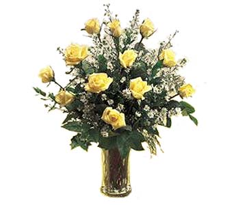 FF9 ''Dozen Yellow Roses'' in Oklahoma City OK, Array of Flowers & Gifts