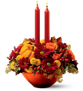 Teleflora's Amber Autumn Bouquet in Oklahoma City OK, Array of Flowers & Gifts