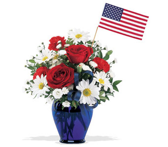 Spirit of America Bouquet in Wichita KS, Tillie's Flower Shop