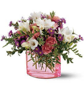 Teleflora's Watercolor Garden Bouquet in San Francisco CA, Fillmore Florist