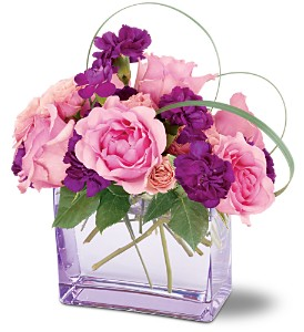 Teleflora's Raspberry Revel Bouquet in Salt Lake City UT, Especially For You