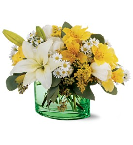 Teleflora's Irish Garden Bouquet in San Francisco CA, Fillmore Florist