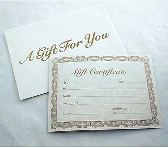 Gift Certificate in Tampa FL, Buds Blooms & Beyond