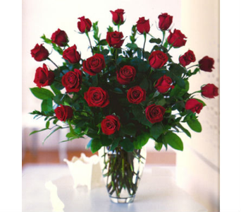 2 DOZEN RED ECUADORIAN ROSES in Wellington FL, Wellington Florist