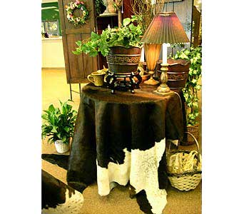 Cowhide in Fort Worth TX, TCU Florist