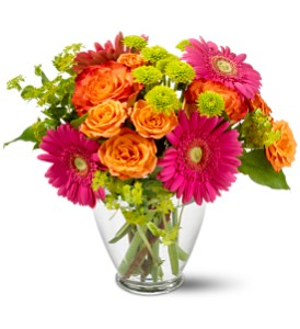 Teleflora's End of the Rainbow in Bayonne NJ, Blooms For You Floral Boutique