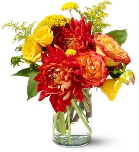 Teleflora's Dazzling Dahlias in Louisville KY, Berry's Flowers, Inc.