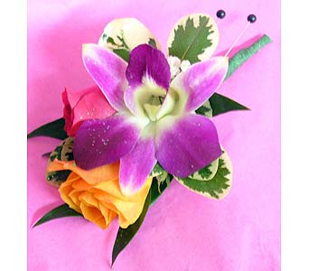 Orchid and Roses in Massapequa Park NY, Bayview Florist & Montage  1-800-800-7304
