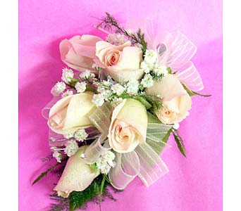 White Rose White Ribbon in Massapequa Park NY, Bayview Florist & Montage  1-800-800-7304