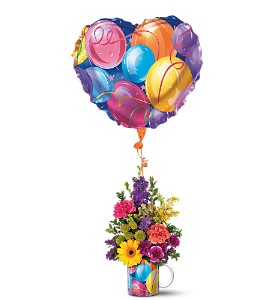 Teleflora's Hip Hip Hooray Bouquet in Sevierville TN, From The Heart Flowers & Gifts