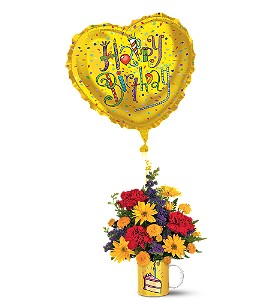 Teleflora's Birthday Surprise Bouquet in Eagle River AK, Oopsie Daisy LLC.