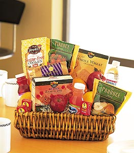 Healthy Gourmet Basket in Macon GA, Lawrence Mayer Florist