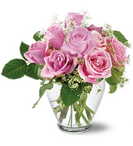 Teleflora's Tender Pinks in Glendale AZ, Blooming Bouquets