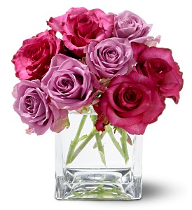 Teleflora's Wild Plum Roses in Little Rock AR, The Empty Vase