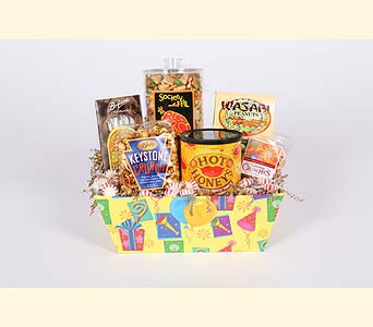 Birthday Gourmet Snack Basket in Southampton PA, Domenic Graziano Flowers