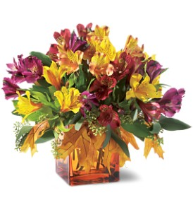 Teleflora's Autumn Alstroemeria Bouquet in Chicago IL, Yera's Lake View Florist