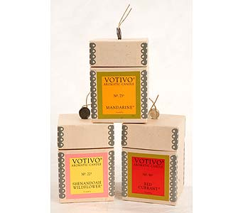 Votivo Candles in Washington DC, Greenworks By Shane