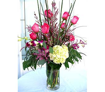 Forever Romance Bouquet in Lake Forest CA, Cheers Floral Creations