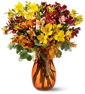 Alstroemeria Brights in San Francisco CA, Fillmore Florist