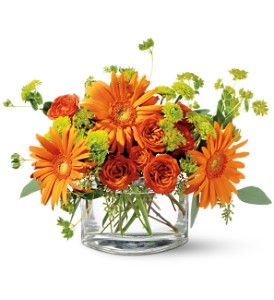 Teleflora's Fiery Fun in Friendswood TX, Lary's Florist & Designs LLC