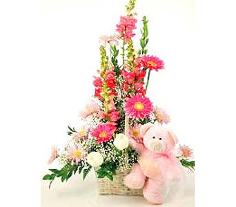 FF62 ''Sweet Shades'' of Pink Bouquet in Oklahoma City OK, Array of Flowers & Gifts