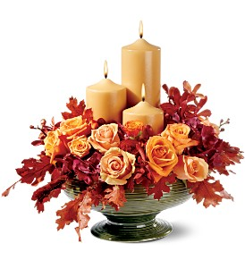 Candles of Autumn in Hendersonville TN, Brown's Florist