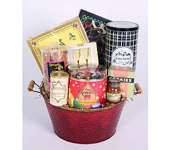 Large Holiday Party Basket in Southampton PA, Domenic Graziano Flowers