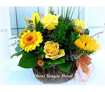 Autumn Glory Basket in Lake Forest CA, Cheers Floral Creations