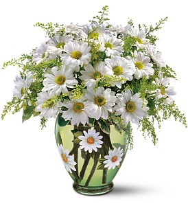 Teleflora's Crazy for Daisies Bouquet in Isanti MN, Elaine's Flowers & Gifts