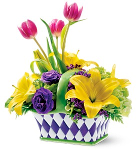 Teleflora's Spring Carnival Bouquet in New York NY, CitiFloral Inc.