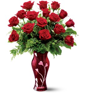 Teleflora's 16 Kisses Bouquet in Norwich NY, Pires Flower Basket, Inc.