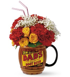 Rootin' for Dad Bouquet by Teleflora in Martinsville IN, Flowers By Dewey