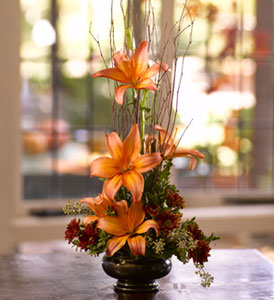 Zen Lilies in Carol Stream IL, Fresh & Silk Flowers