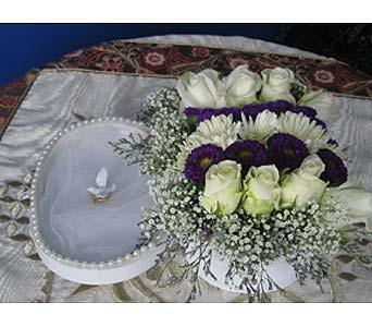 Exotica's Wedding Box 1 in Fairfax VA, Exotica Florist, Inc.