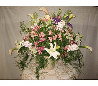 Exotica's Bucket of Flowers in Fairfax VA, Exotica Florist, Inc.