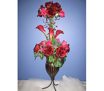 Exotica's Burgundy Class in Fairfax VA, Exotica Florist, Inc.
