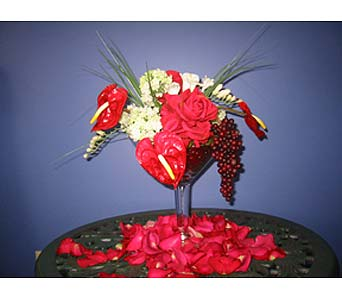 Exotica's Ruby Glass in Fairfax VA, Exotica Florist, Inc.