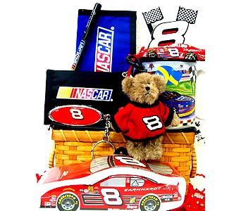 GB194 ''Finish Line'' Gift Basket in Oklahoma City OK, Array of Flowers & Gifts