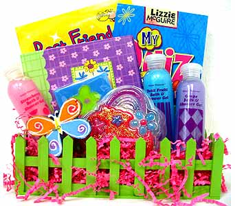 GB199 ''Girlz Garden'' Gift Basket in Oklahoma City OK, Array of Flowers & Gifts