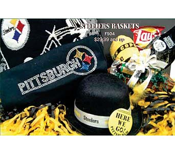 Go Steelers! in McKees Rocks PA, The Flowersmith