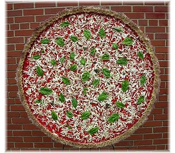 Large Pizza Pie in Brooklyn NY, David Shannon Florist & Nursery