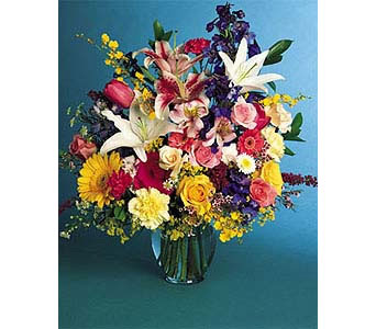 Bright and Beautiful in New York NY, CitiFloral Inc.